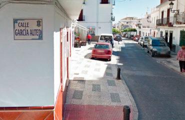 El lunes se inaugurarán las nuevas calles García Alted y Encarnación Gallardo Pomares