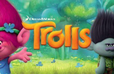Trolls se proyectará esta noche a las 22:00 horas en la Plaza de los Cangrejos