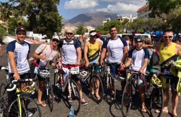7 atletas nerjeños del X-Bike participaron en el 'Hospiten Triatlón Villa de Estepona'
