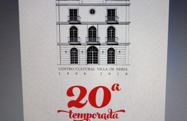 Anabel Iranzo presenta la XX Temporada del Centro Cultural Villa de Nerja