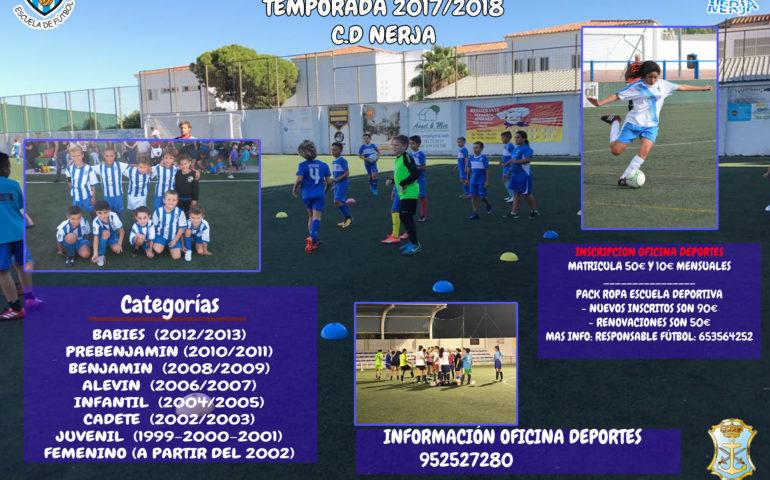 El plazo de inscripciones para las diferentes Escuelas Municipales  Deportivas ya está abierto en Nerja c38a515a9732d
