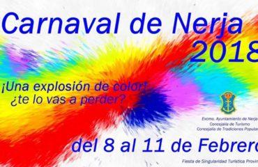 Nerja anuncia las fechas de su Carnaval 2018