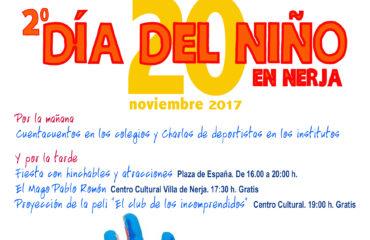 El lunes 20 de noviembre Nerja celebra el Día del Niño en su segunda edición