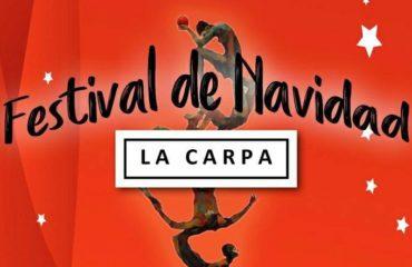 Hoy el Teatro La Carpa llega a Nerja con su Festival de Navidad