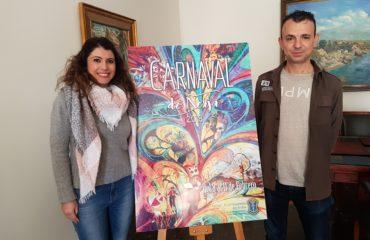 """Se hace oficial el cartel del Carnaval de Nerja 2018 """"Escribe tu Mundo"""""""