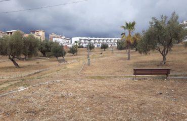 Las áreas de La Noria y parque de La Barriada de Los Poetas son desbrozadas