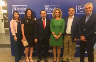 Rosa Arrabal y Patricia Gutiérrez asisten a la III Edición de los Premios Evolución