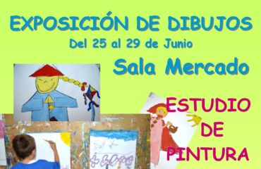 Nueva Exposición de Dibujos Infantiles en la Sala Mercado