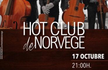 El jazz contemporáneo llega de la mano de Hot Club de Norvège