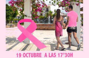 El Ayuntamiento de Nerja se une contra el cáncer de mama