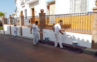Actuaciones de pintura en Nerja y Maro