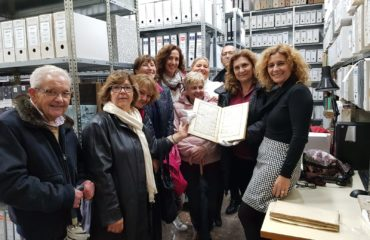 Nueva visita al Archivo Municipal de Nerja