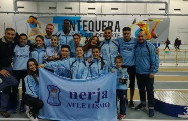 El Club Nerja Atletismo revalida el título de Campeón de Andalucía Absoluto