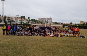 Gran calidad de participantes en la IV Jornada de Rugby Femenino