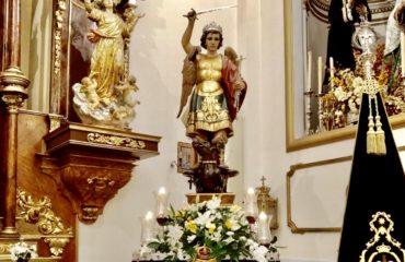 Hoy se procesiona San Miguel Arcángel, Patrono de Nerja