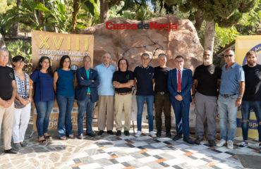 La Cueva de Nerja acoge el Campeonato Andaluz de Espeleología