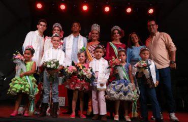 Coronados la Reina y el Caballero Infantil de la Feria de Nerja 2019