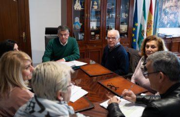 El alcalde se compromete con el Taller de la Amistad en la construcción de su residencia para personas con discapacidad