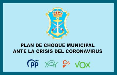 Plan de choque municipal ante la crisis del coronavirus