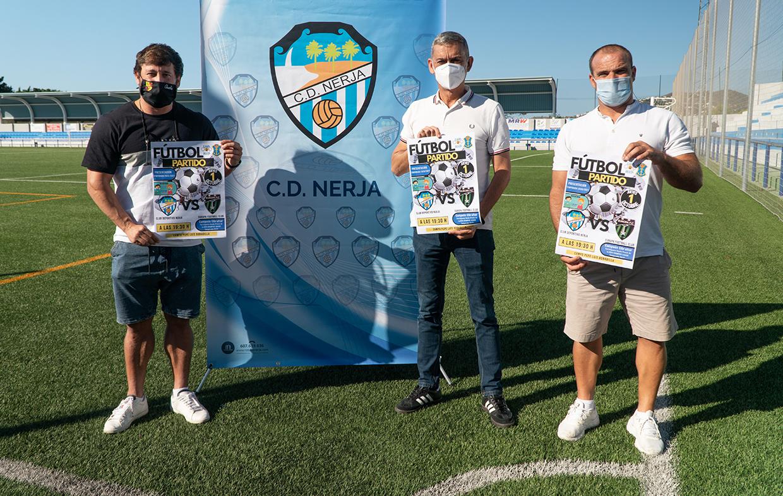 El C.D. Nerja se presenta el jueves con un partido frente al Europa F.C. 2