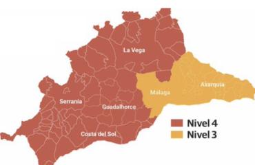Nerja pasará mañana del nivel 4 al 3 hasta el 10 de diciembre