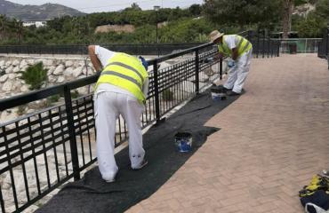 El Ayuntamiento refuerza el servicio de pintura con nuevas contrataciones de la Bolsa de Trabajo
