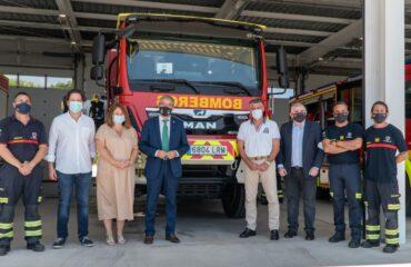 La Diputación amplía la flota del Parque de Bomberos de Nerja con nuevos vehículos