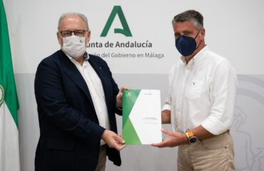 El alcalde firma con la Junta de Andalucía el protocolo para la construcción del nuevo Centro de Salud