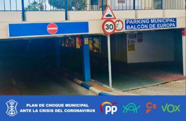Aprobada la Ordenanza de aparcamientos municipales con una reducción en la tarifa para el Centro Comercial Abierto (Plan de Choque)